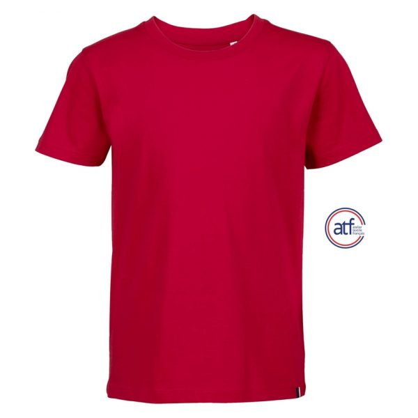 Camiseta Atf Lou Niño Sols - Rojo
