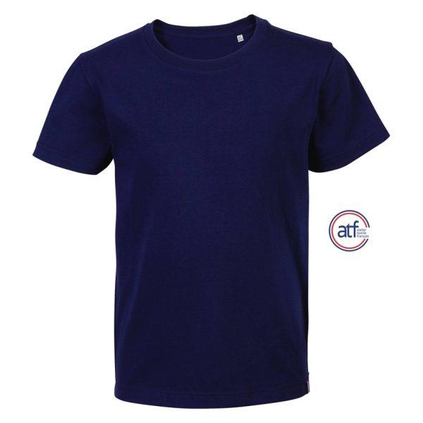 Camiseta Atf Lou Niño Sols - Azul Marino