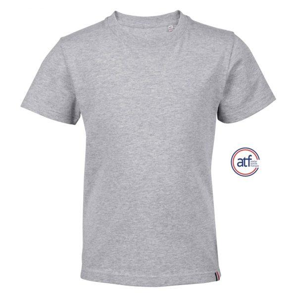 Camiseta Atf Lou Niño Sols - Gris Mezcla