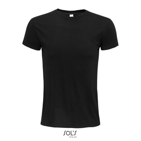 Camiseta Epic Unisex Sols - Negro Profundo