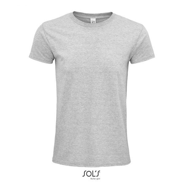 Camiseta Epic Unisex Sols - Gris Mezcla