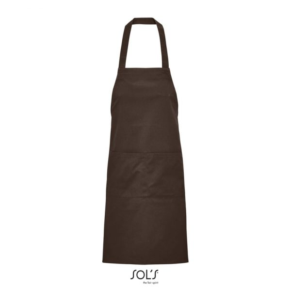 Delantal Gamma Unisex Sols - Chocolate