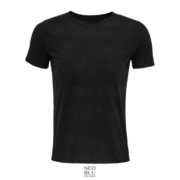 Camiseta Neoblu Leonard Men Hombre Sols - Negro Profundo