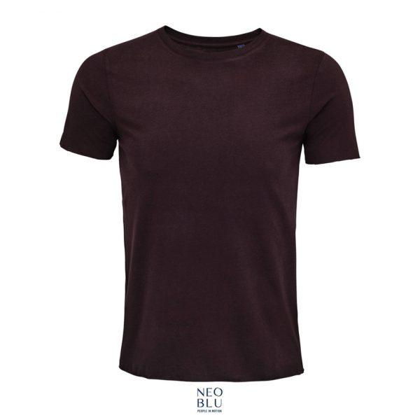 Camiseta Neoblu Leonard Men Hombre Sols - Rojo Oscuro