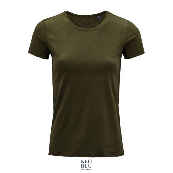 Camiseta Neoblu Leonard Women Mujer Sols - Caqui Intenso