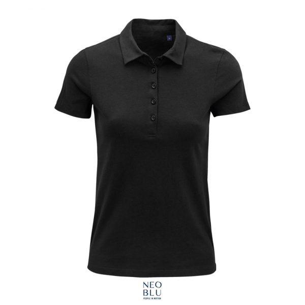Polo Neoblu Octave Women Mujer Sols - Negro Profundo