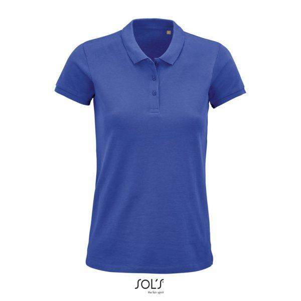 Polo Planet Women Mujer Sols - Azul Royal