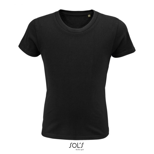Camiseta Pioneer Kids Niño Sols - Negro Profundo