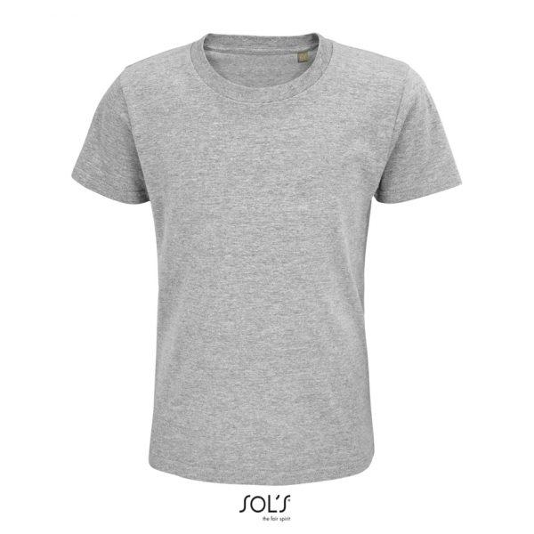 Camiseta Pioneer Kids Niño Sols - Gris Mezcla
