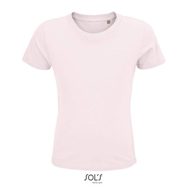 Camiseta Crusader Kids Niño Sols - Rosa Pálido