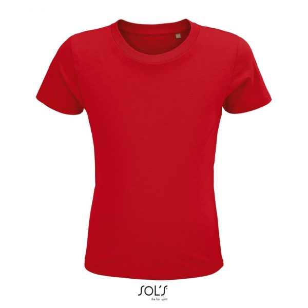 Camiseta Crusader Kids Niño Sols - Rojo