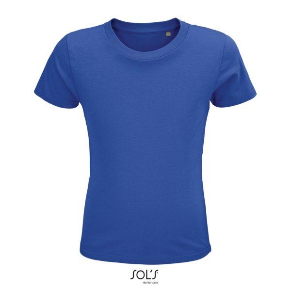 Camiseta Crusader Kids Niño Sols - Azul Royal