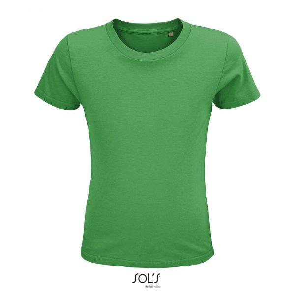 Camiseta Crusader Kids Niño Sols - Verde Pradera