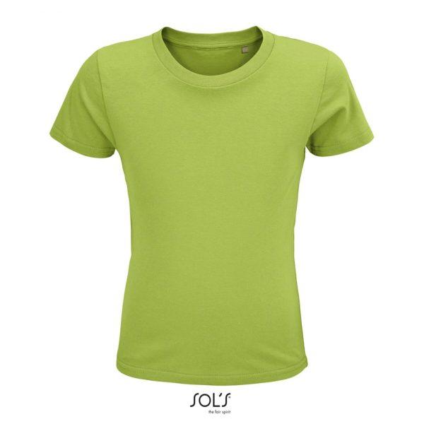 Camiseta Crusader Kids Niño Sols - Verde Manzana