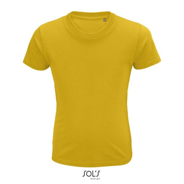 Camiseta Crusader Kids Niño Sols - Amarillo