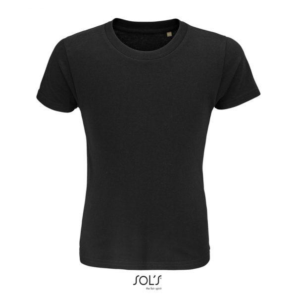 Camiseta Crusader Kids Niño Sols - Negro Profundo