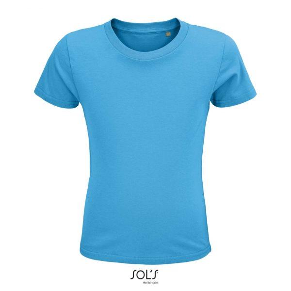 Camiseta Crusader Kids Niño Sols - Aqua