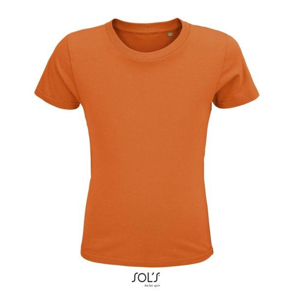 Camiseta Crusader Kids Niño Sols - Naranja