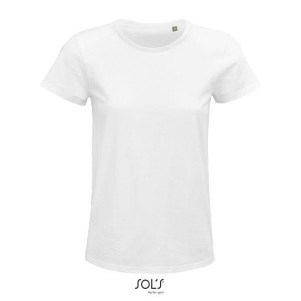 Camiseta Crusader Women Mujer Sols - Blanco