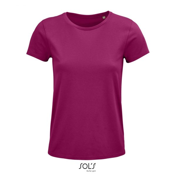 Camiseta Crusader Women Mujer Sols - Fucsia