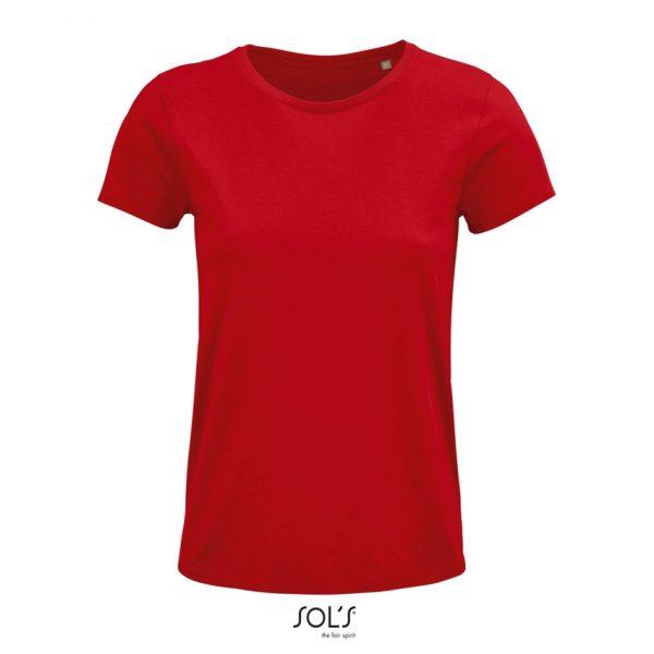 Camiseta Crusader Women Mujer Sols - Rojo