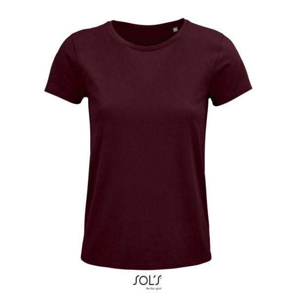 Camiseta Crusader Women Mujer Sols - Burdeos