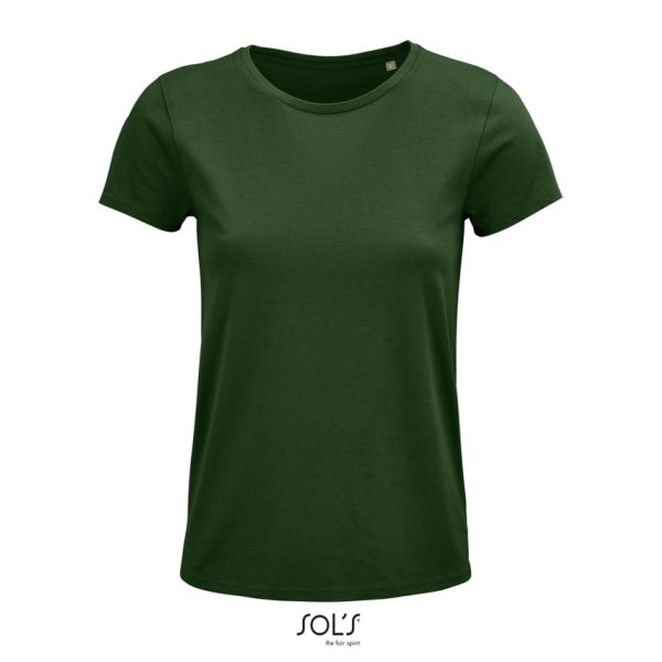 Camiseta Crusader Women Mujer Sols - Verde Botella