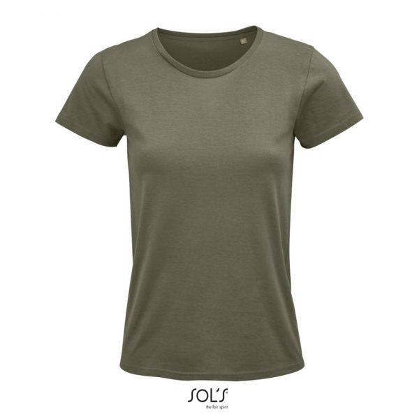 Camiseta Crusader Women Mujer Sols - Caqui