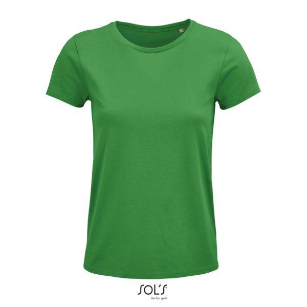 Camiseta Crusader Women Mujer Sols - Verde Pradera