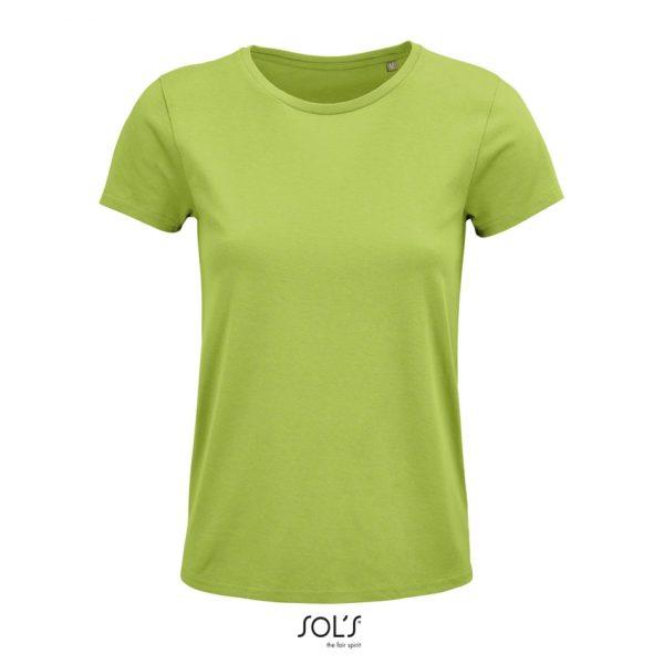 Camiseta Crusader Women Mujer Sols - Verde Manzana