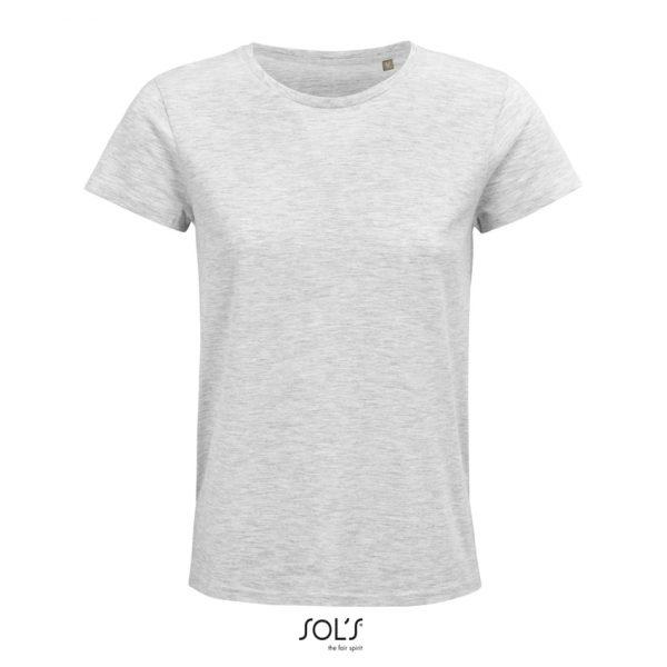 Camiseta Crusader Women Mujer Sols - Ash