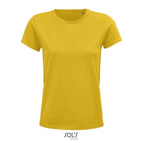Camiseta Crusader Women Mujer Sols - Amarillo