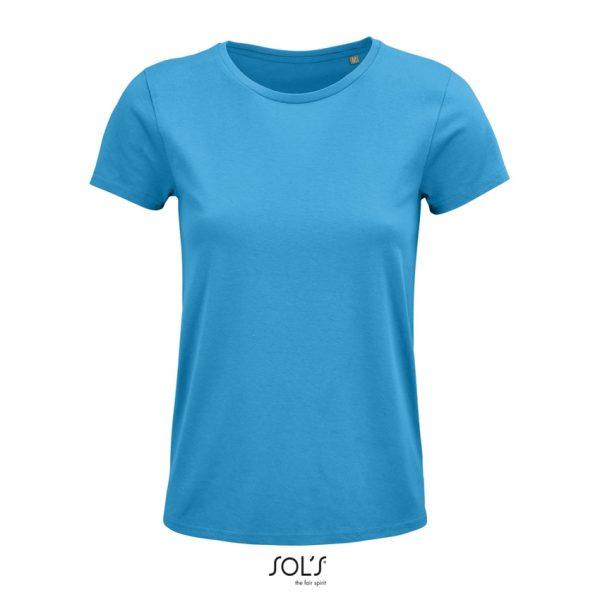 Camiseta Crusader Women Mujer Sols - Aqua