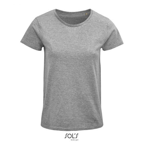 Camiseta Crusader Women Mujer Sols - Gris Mezcla