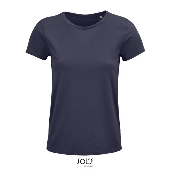 Camiseta Crusader Women Mujer Sols - Gris Ratón