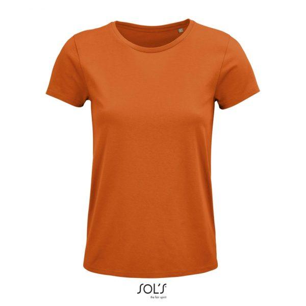 Camiseta Crusader Women Mujer Sols - Naranja