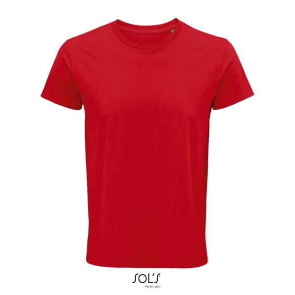 Camiseta Crusader Men Hombre Sols - Rojo
