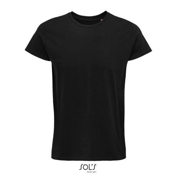 Camiseta Crusader Men Hombre Sols - Negro Profundo