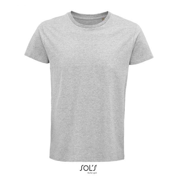 Camiseta Crusader Men Hombre Sols - Gris Mezcla