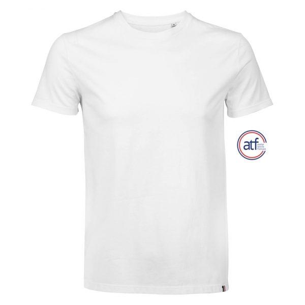 Camiseta Atf Lino Hombre Sols - Blanco