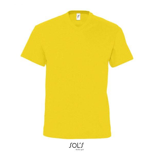 Camiseta Victory Hombre Sols - Amarillo