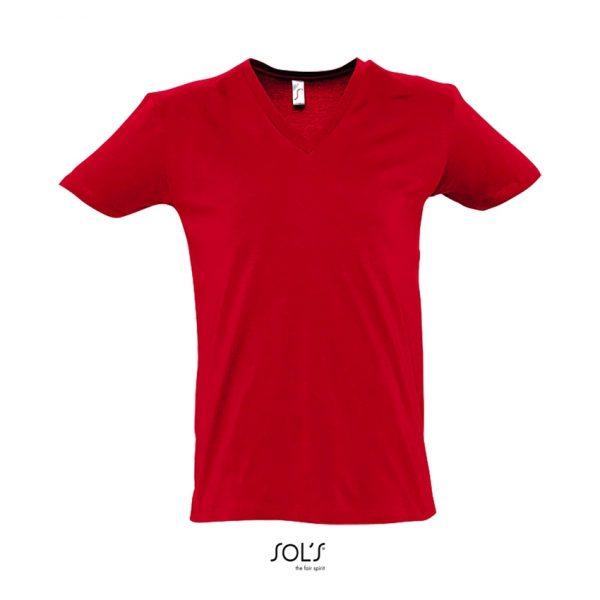 Camiseta Master Hombre Sols - Rojo