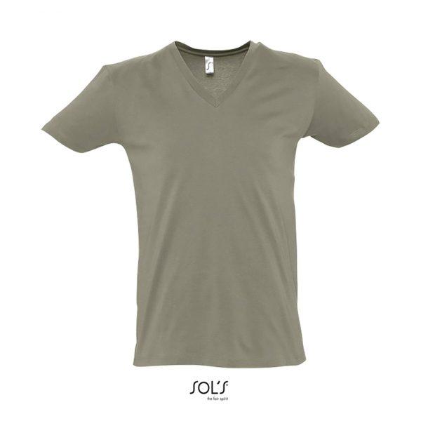 Camiseta Master Hombre Sols - Caqui