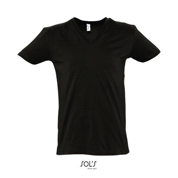 Camiseta Master Hombre Sols - Negro Profundo