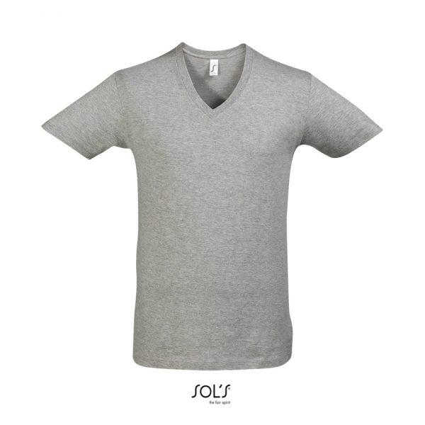 Camiseta Master Hombre Sols - Gris Mezcla