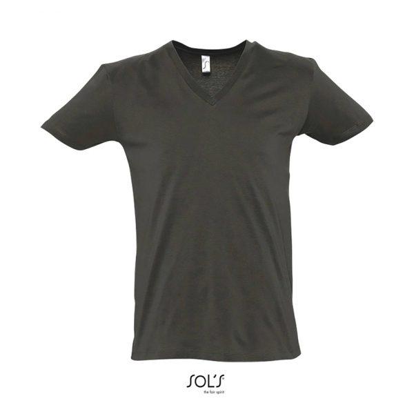 Camiseta Master Hombre Sols - Gris Oscuro