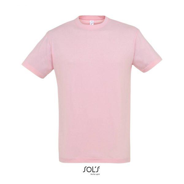 Camiseta Regent Hombre Sols - Rosa Medio