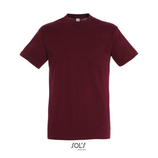 Camiseta Regent Hombre Sols - Burdeos