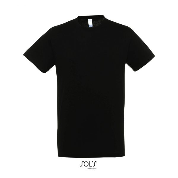 Camiseta Regent Hombre Sols - Negro Profundo