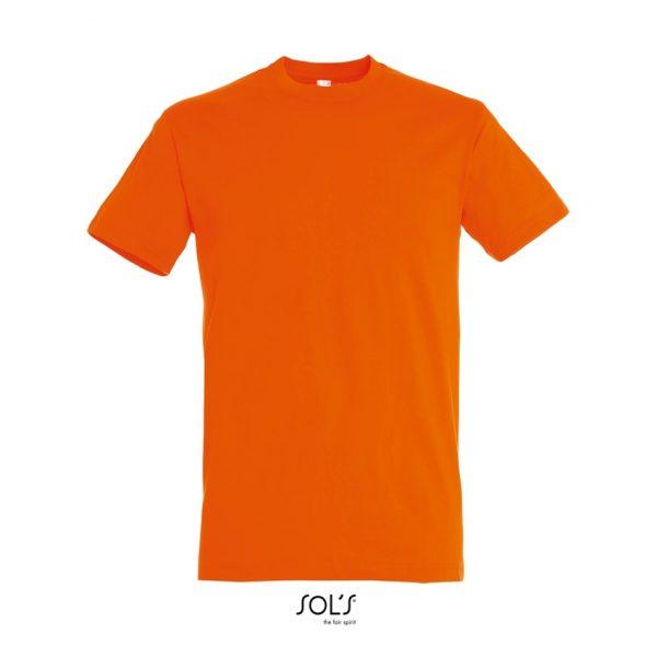 Camiseta Regent Hombre Sols - Naranja